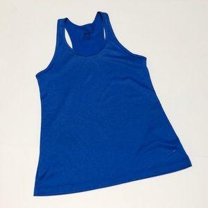 Nike bright blue DRI-FIT tank